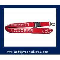 Cheap Customized Polyester / Nylon Custom Printed Lanyards for Cards / Key , Multi Color,woven lanyard for sale