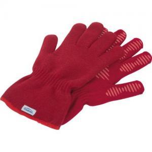 Disposable polyethylene plastic gloves cook