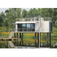 Quality Heavy Steel Modern Modular Homes New Design Steel Frame Prefab House for sale