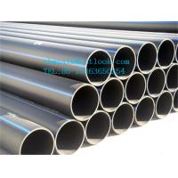 Quality UHMW PE pipe with wear resistance for sale