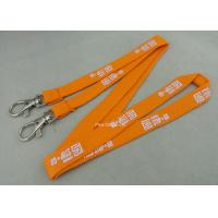 Best Custom Promotional Polyester Printing Lanyards , Tube Lanyard With Solid Color Printing. wholesale