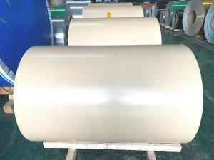 Quality 5052 PVDF Coating Prepainted Aluminum Coil Anti Impact for sale