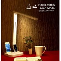 Buy cheap 2016 promotion UL approval LED desk lamp with USB Iphone docking four CCT nine level brightness auto off timer from wholesalers