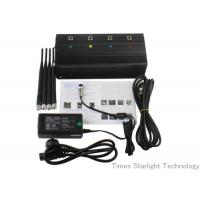 China Desktop Smart Cell Phone Signal Jammer , Cellular Phone GPS WiFi Jammer on sale