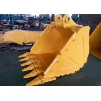 Wheeled Extension CAT336 Excavator V Ditching Bucket With 6 Teeth