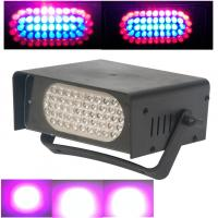 Quality LED Stage 53Bulbs RGB Or Single White Color Small Colorful Strobe Light for sale