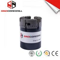 Quality DCDMA Standard UMX Stage 1 And 2 Imp Diamond Core Drill Bit From Medium To Ultra-Hard Formation for sale