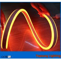 Buy cheap Topsung lighting 12v orange 100m mini double sided led neon rope strip waterproof 8.5*18mm light from wholesalers