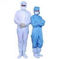 Quality ESD Cleanroom Union Clothes for sale