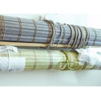 Quality Durable Bamboo Vertical Blinds Environmental Friendly For Coffee Bar for sale