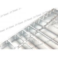 Quality Durable Serrated Galvanized Steel Grating Anti Rust For Industrial Buildings for sale