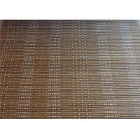 Quality Printed Outdoor Roll Up Bamboo Blinds , Eco Friendly PVC Bamboo Window Shades for sale