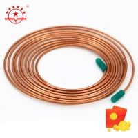 Quality Brazing Materials A/C 250 Copper Pancake Coil For Air Conditioner for sale