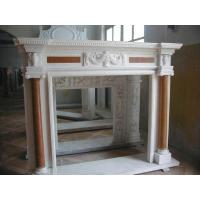 Quality marble fireplace mantel for home decoration for sale