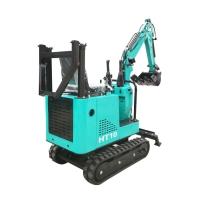 Quality new cheap household multi-function Chinese mini 1ton hydraulic crawler rubber track excavator digger ce certified for sale