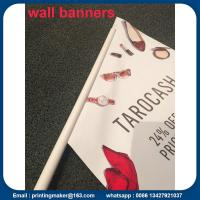 China Custom Outdoor Wall Hanging Flags Banners on sale