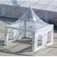 Quality 4m x 4m Clear Marquee Tent Aluminum Transparent Portable Temporarily Installed for sale