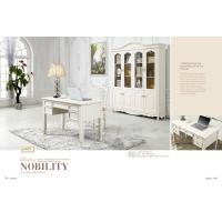 China luxury modern white wood home office desk furniture on sale