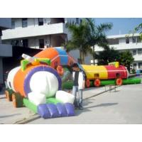China Amusement Park Games, Inflatable Tunnel Maze / Inflatable Tunnel Train on sale