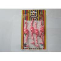 Buy Fancy Pink Art Craft Wedding Ceremony Candles Spring Shaped With Holders at wholesale prices