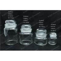 Best a series of the glass jar with lid, glass candle jar wholesale wholesale