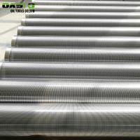 Quality Galvanized Surface Stainless Steel Well Screen Pipe Non Alloy For Drill Pipe for sale