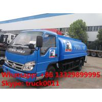 Buy cheap cheapest price forland RHD 5000L stainless steel milk tank truck for sale, from wholesalers