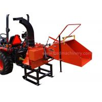 Quality 8 Inch Pto Powered Chipper , 2 Cutting Knives Pto Wood Chipper For Compact Tractor for sale