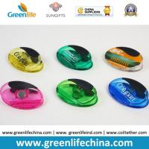 Best Plastic Magnet Clip Transparent Colors Oval Shape Office Stationery wholesale