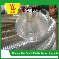 Quality hot selling steel wire flexible pvc duct hose for sale