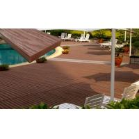 Quality Floor WPC Composite Decking With 70% PVC Powder and 30% Bamboo Powder for sale