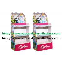 Best Pink Stationery Cardboard Display Stand with Corrugated paper and Pop Structure wholesale