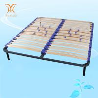 China Luxurious Metal Bed Frame With Slats Manufacturer on sale