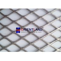 Quality Flattened Expanded Steel Mesh , Expanded Metal Diamond Mesh Rolls And Panels for sale