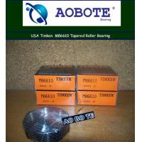 Quality Low noise Single Row Timken Taper Roller Bearings For front wheel for sale