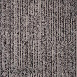 Quality Commercial Grade Carpet / Commercial Carpet Squares High Cut Low Loop Construction for sale