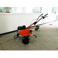 Quality 6.5HP Gas Powered Pull Behind Tiller Farm Rotary Tiller With Belt Drive for sale