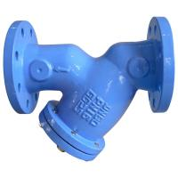 Quality Industrial Flanged Y Strainer  DIN3202 F1 Stable Performance For Water  Oil for sale