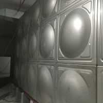 China Modular Panel Anticorrosive SUS304 Basement School Water Tank for sale
