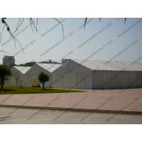 Quality Large Temporary Warehouse Tent 20m 30m Width Waterproof For Outside Industrial Storage for sale