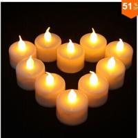 China White Battery-Operated Votive Candles on sale