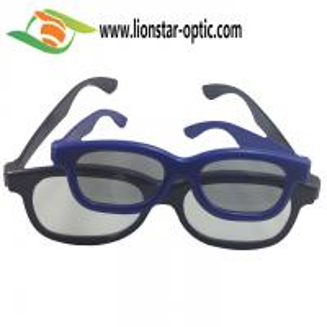 Quality plastic circular polarized 3d glasses China factory bulk for sale