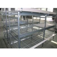 Quality High Capacity H Type Poultry Cage Low Noise ISO9001 Certification for sale