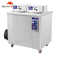 China Single Tank 38Liters 10gallons Industrial Ultrasonic Cleaner for sale