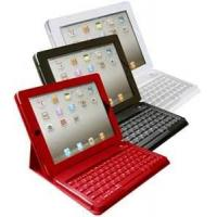 Quality Adjustable stand Apple Tablet PC 5W Ipad Solar Charger Case / Cases + Bluetooth keyboard for sale