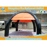 China Outside Commercial Dome Inflatable Sunshade Tent With 4 Legs , Customized Design on sale