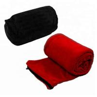 Quality Anti Pilling Fleece Sleep Sack For Adults Compact Light Sleeping Bag Liner for sale
