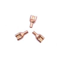 Quality 0.5mm Wall Thickness R410A  Air Conditioner Copper Tube  500Mpa Tensile Strength for sale