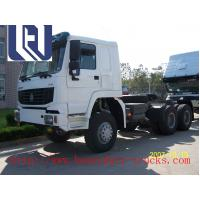 Quality Flat Floor Cabin Sinotruk Howo Heavy Prime Mover Truck 6 Wheels For Transport for sale