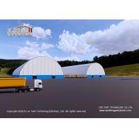 China Warehouse Storage / Coal Storage with Aluminum frame and waterproof PVC cover on sale